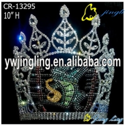 Animal Rhinestone Pageant Crown