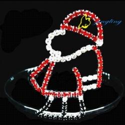 fashion rhinestone christmas crowns