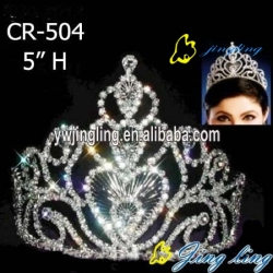 rhinestone pageant cown