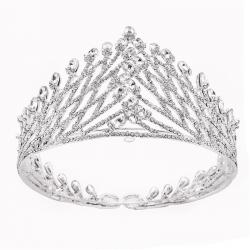 New Fashion White Whole Rhinestones Crown