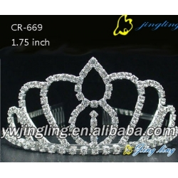 New design diamond pageant crowns