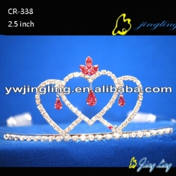 Pageant Crown Heart Shape