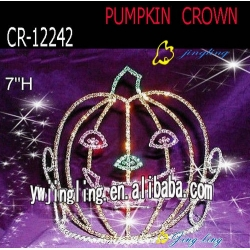 Easter Tiara Crowns Pumpkin Shape