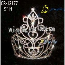 fashion cute tiara pageant valentine crown