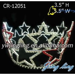 Full Round Crown Patriotic Crown