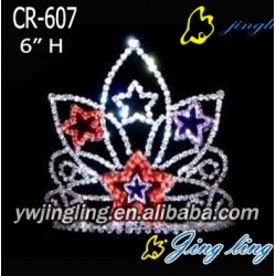 Patriotic Crown Star
