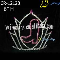 Rhinestone Pageant Crowns  shoe shape