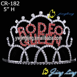 beauty rhinestone and crystal queen crown for sale