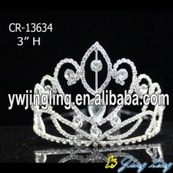 Rhinestone stone cheap beauty pageant tiaras