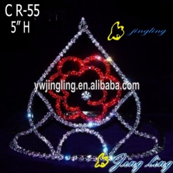 Charm wedding flower crown tiara