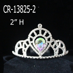 New Cheap AB Rhinestone Wholesale Pageant Crowns