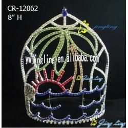 Pageant Crown Sun Sea Flower Shape