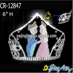 crown wedding shape
