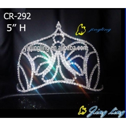 fashion rhinestone crown animal crown