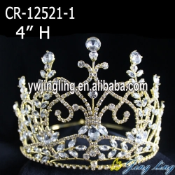 gold pageant crowns and tiaras