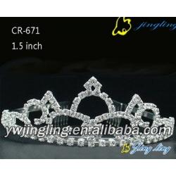 rhinestonetiara pageant tiaras CR-671
