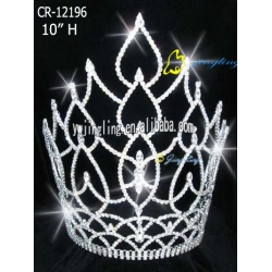 large leaf tiara hot sale cheap pageant crown