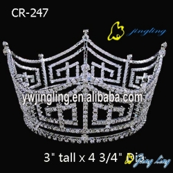 Full Round Crown Custom King Crowns