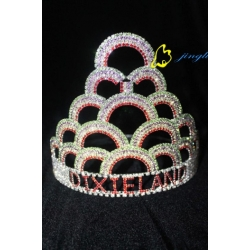 New Rainbow Design Big Crown