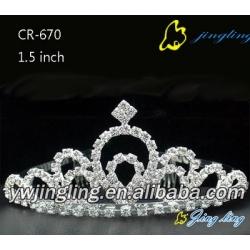 rhinestonetiara pageant crowns CR-670