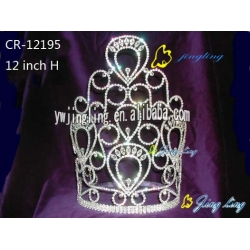 large tiara hot sale cheap pageant crown