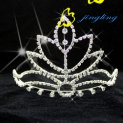 2012 new design rhinestone prom crowns tiaras
