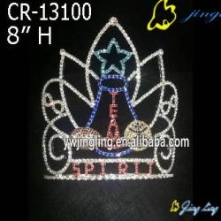 Glitz Pageant Crowns Guita Shape