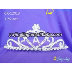 Pageant Crown Heart Shape