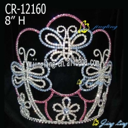 animal Butterfly Pageant Crown For Sale