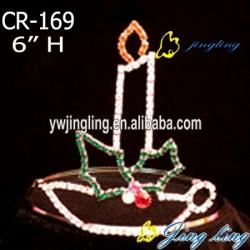 colorful rhinestone crown tiara