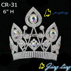 Hot Rhinestone Pageant Crown