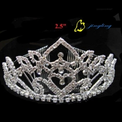 fashion diamond wedding crown