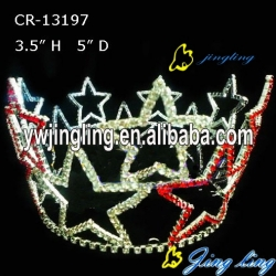 Full Round Crown Patriotic Crown