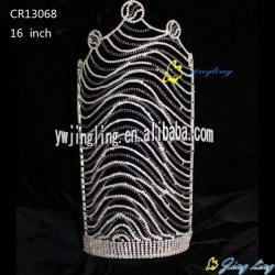 high size of zebra crown