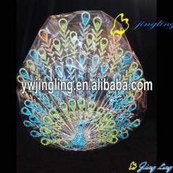 Animal crown Peacock shape charm