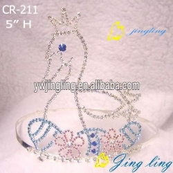 easter swan tiara crowns