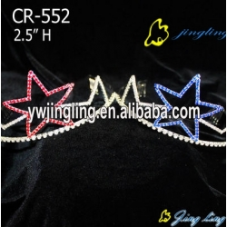 The five-pointed star crown