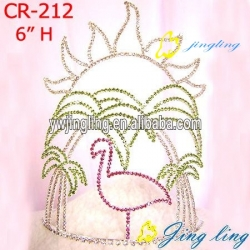 easter red-crowned crane tiara crowns