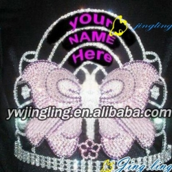 special butterfly pageant crown