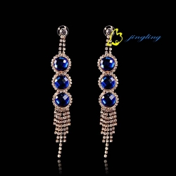 2015 Best Selling Dangle Rhinestone Earring