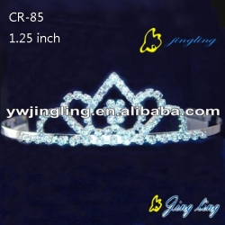 custom crystal wedding tiara