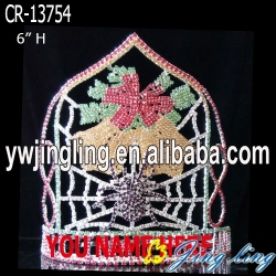 Hot Beauty Bell  Christmas Pageant Crowns