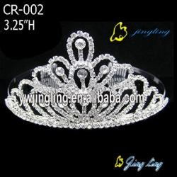 Bridal crystal crown tiaras