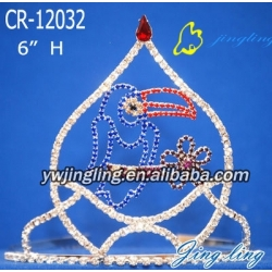 Pageant Crown bird shape