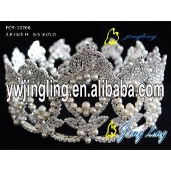 Full Round Crown Pearl Crown