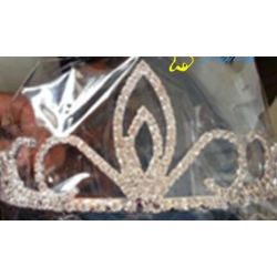 Stock crown wedding tiara 071
