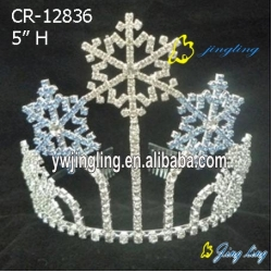 Holiday Crown  Christmas Snow