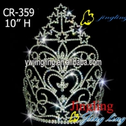 rhinestone tiaras crowns