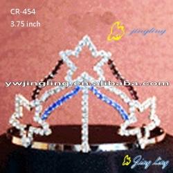 3 five-pointed stars Patriotic Crown