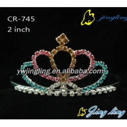 Pageant Crown Colorful